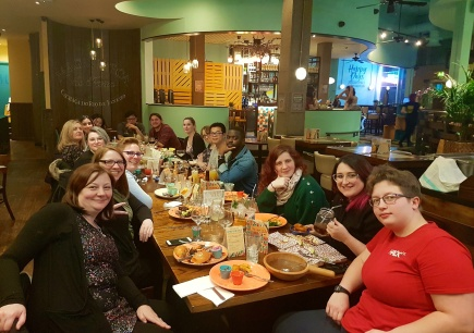 DEDN Group Meal 22.03.18